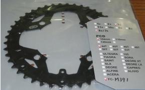 Shimano FC-M391 44T lánckerék fekete