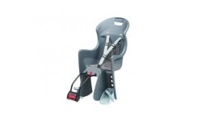 Polisport Boodie gyermekülés vázra szerelhető adapteres szürke-ezüst