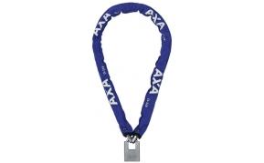 AXA Clinch láncos zár 115cm kék