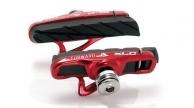 XLC Cartridge országúti fékbetét piros-fekete BS-R06