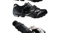 Shimano SH-WM63 MTB cipő + Shimano PD-M520 pedál